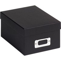 Škatla za shranjevanje fotografij Walther Fotobox Fun black za 700 fotografij 10x15 cm, FB115B