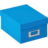 Škatla za shranjevanje fotografij Walther Fotobox Fun ocean blue za 700 fotografij 10x15cm, FB115U