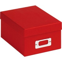 Škatla za shranjevanje fotografij Walther Fotobox Fun red za 700 fotografij 10x15cm, FB115R