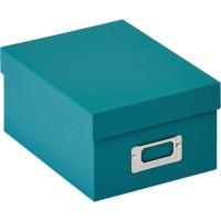 Škatla za shranjevanje fotografij Walther Fotobox Fun teal za 700 fotografij 10x15cm, FB115K