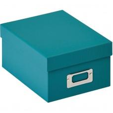 Škatla za shranjevanje fotografij Walther Fotobox Fun teal za 700 fotografij 10x15cm, FB115K (D-566617)