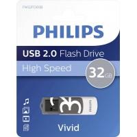 USB ključek Philips USB 2.0 32GB Vivid Edition Grey
