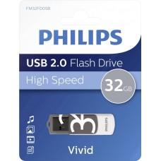 USB ključek Philips USB 2.0 32GB Vivid Edition Grey (D-513004)