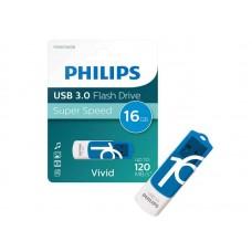USB ključek Philips USB 3.0 16GB Vivid Edition Blue