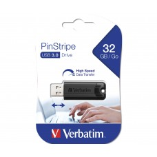 Verbatim Store n Go 32GB Pinstripe USB 3.2 black