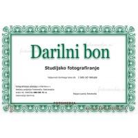 Darilni bon za Studijsko fotografiranje Spominčica