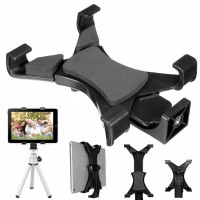 "Universal Tripod Mount Holder Bracket 1/4""Thread Adapter For iPad  7""~10.1""Tablet"