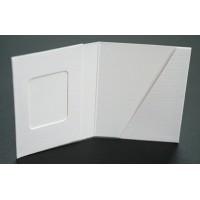 Mapa, etui, zgibanka, album za foto dokumente z okencem 3x4 cm in žepkom do velikosti 5 x 7 cm, paket 100 kom