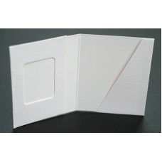 Mapa, etui, zgibanka, album za foto dokumente z okencem 3x4 cm in žepkom do velikosti 5 x 7 cm, paket 100 kom (F-100020)
