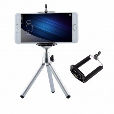Selfie, video, Mini Tripod + Phone Holder Clip Desktop Tripod For Digital/SLR Camera Cellphone Smartphone Mobile Phone