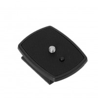 Quick Release Plate QB-4W, 1/4 Inch for SoNY VCT-D580RM/D680RM, Velbon CX-888 460 570 690