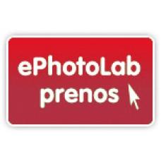 Program za pošiljanje fotografij v razvijanje, tiskanje,  ePhotoLab