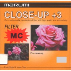 Close-Up +3 filter for 77mm lenses, Marumi MC