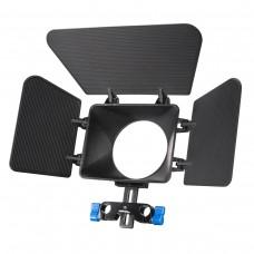 Matte Box sončna zaslonka M1 za DSLR nosilec (W-18620)