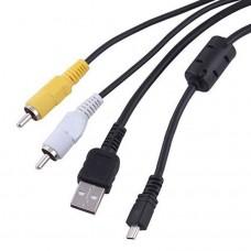 USB/AV podatkovni kabel za  Sanyo Xacti VPC-S7/VPC-S60/VPC-S500